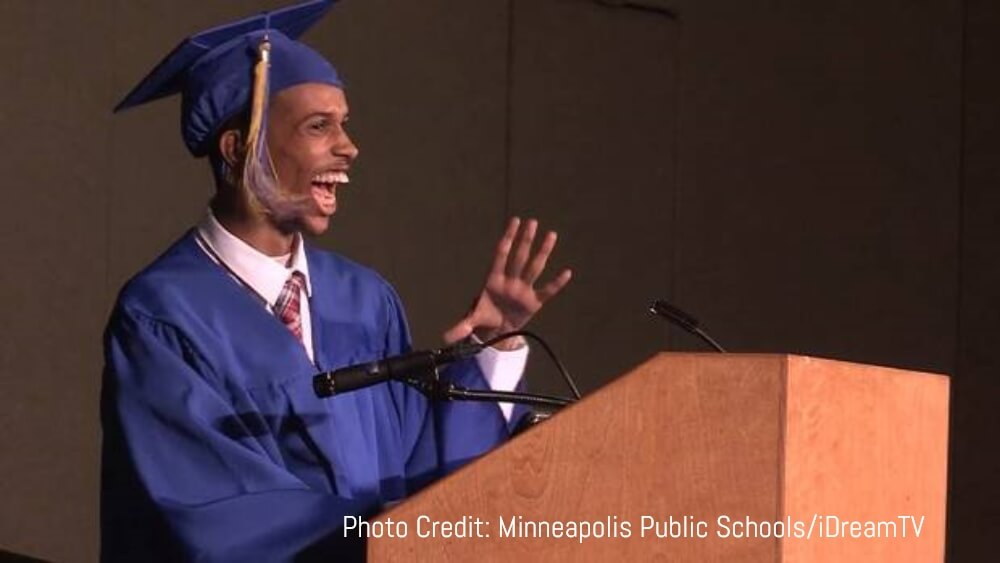 Nonverbal High Schooler Makes History By Giving Speech with Assistive Technology - Finding Cooper's Voice